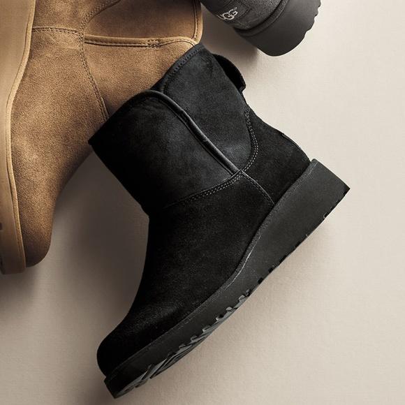 79ec0783330 UGG Uggs Kristin Classic Slim Mini Boot Wedge 10
